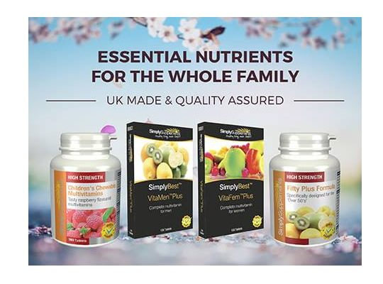 WIN £35 Worth Of Simply Supplements' Products