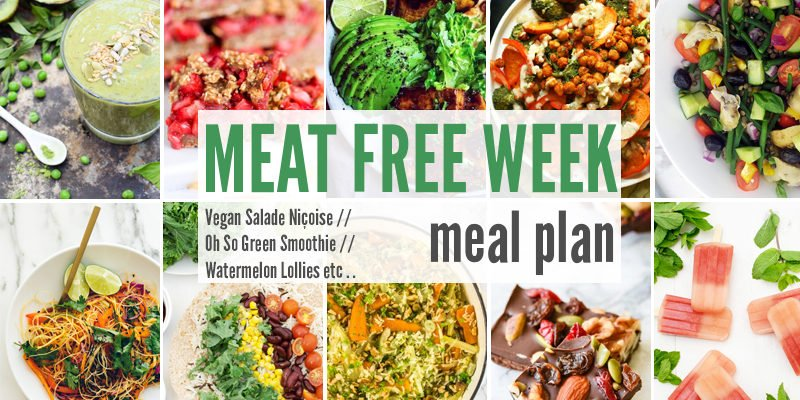 Meat Free Meal Planner: Vegan Salade Niçoise, Oh So Green Smoothie + Watermelon Lollies