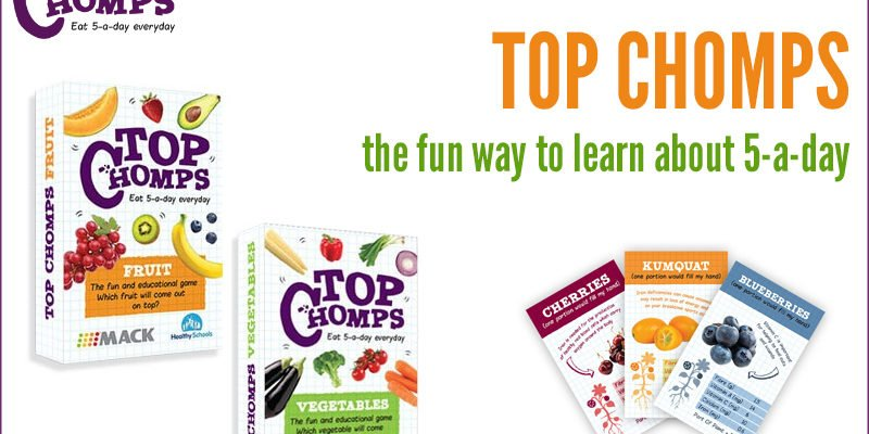 Top Chomps - The Fun Way To Learn About Your 5-a-day