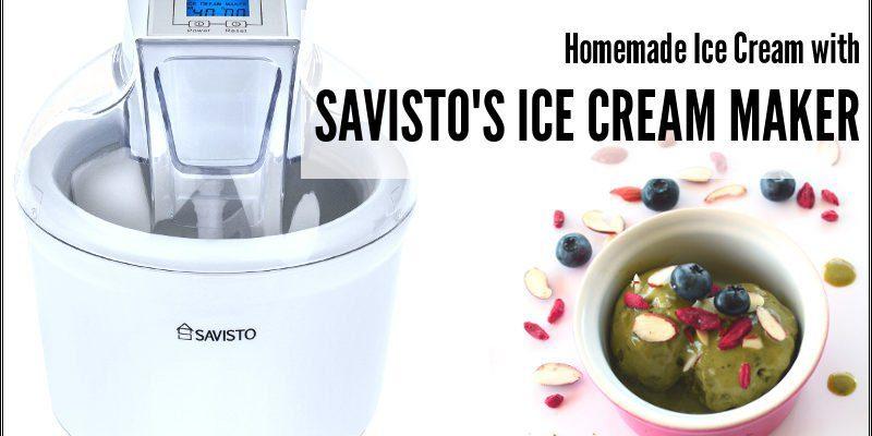 savisto ice cream maker