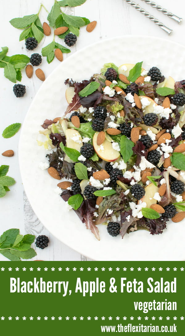 Blackberry, Apple & Feta Salad [vegetarian] by The Flexitarian