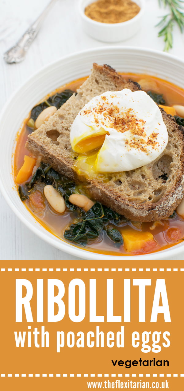 Ribolitta With Poached Eggs [vegetarian] by The Flexitarian