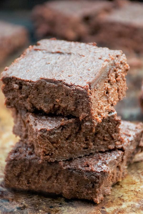 Sweet Potato Cricket Brownies [flexitarian]