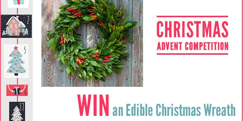 Advent Competition – WIN An Edible Christmas Wreath