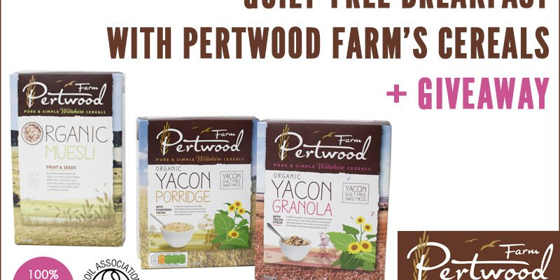 Guilt-Free Breakfast With Pertwood Farm's Organic Cereals + Giveaway