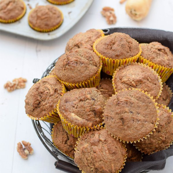 Spiced Parsnip Muffins [vegan] by The Flexitarian