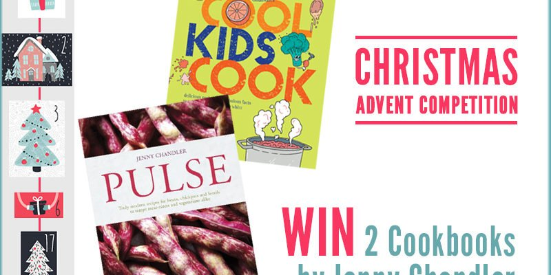 Advent Competition – WIN 2 Cookbooks by Jenny Chandler