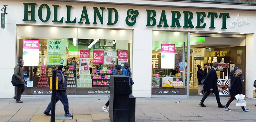 Holland & Barrett Goes Big in Marble Arch