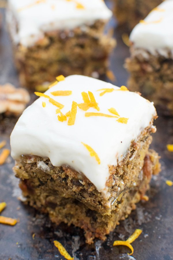 Organic Beetroot Cake With Coconut Orange Frosting Vegan