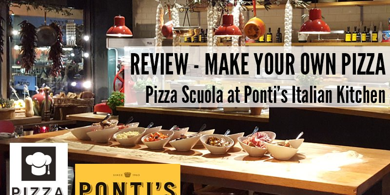 Make Your Own Pizza With Pizza Scuola At Ponti's Italian Kitchen