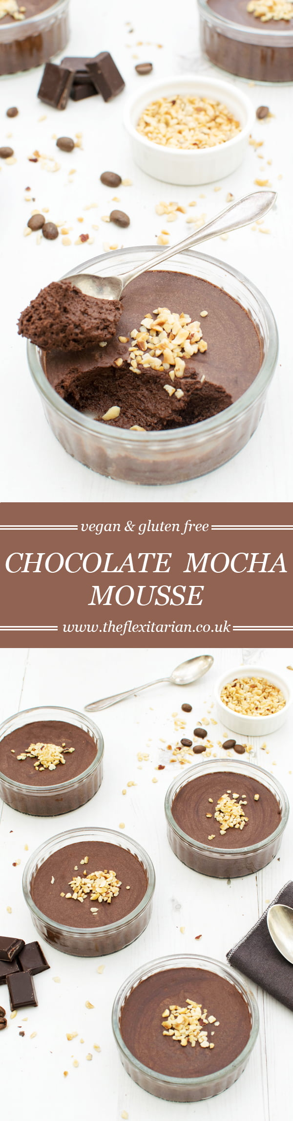 Chocolate Mocha Mousse [vegan] [gluten free] by The Flexitarian
