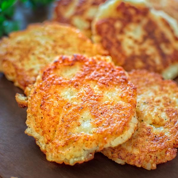 Classic Potato Pancakes [vegetarian] by Cooktoria