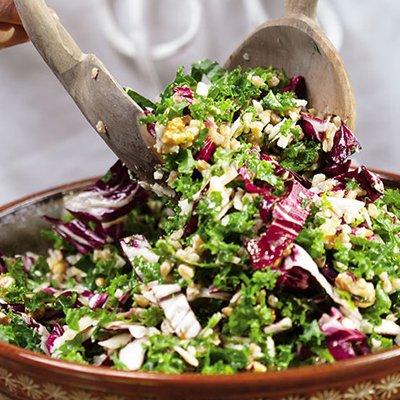 Kale & Farro Salad [vegan] via Fitbit