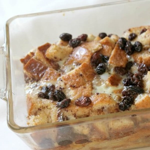 Left Over Bread Crusts Pudding [vegetarian] by A Mother Far From Home