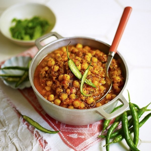 Chickpea Curry [vegan] by Jamie Oliver