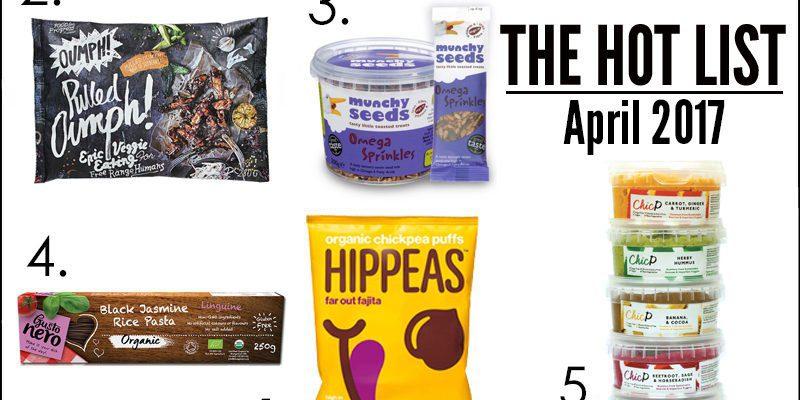 The Hot List - April 2017