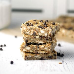 No-Bake Hemp Seed Bars [vegan] by Spinach For Breakfast