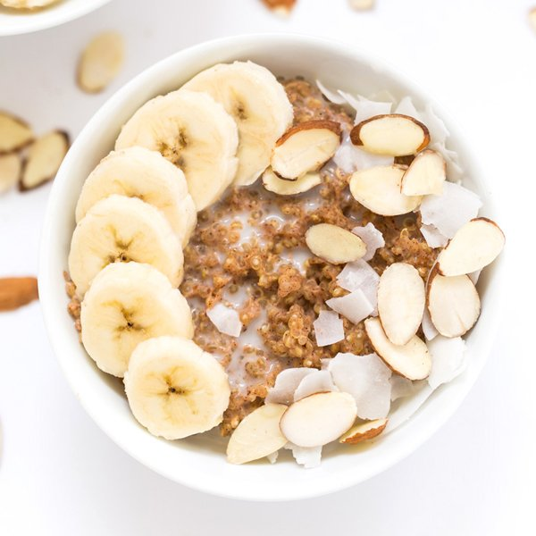 Quinoa Power Breakfast Bowls [vegan] by Simply Quinoa
