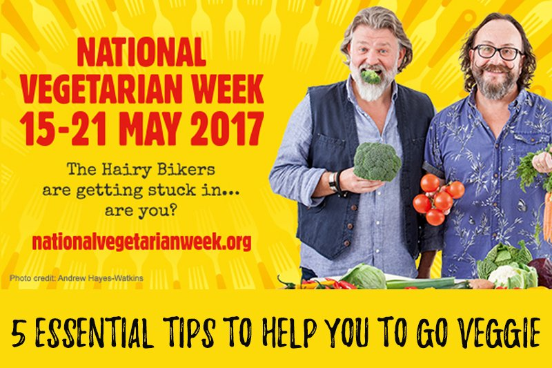 National Vegetarian Week 2017