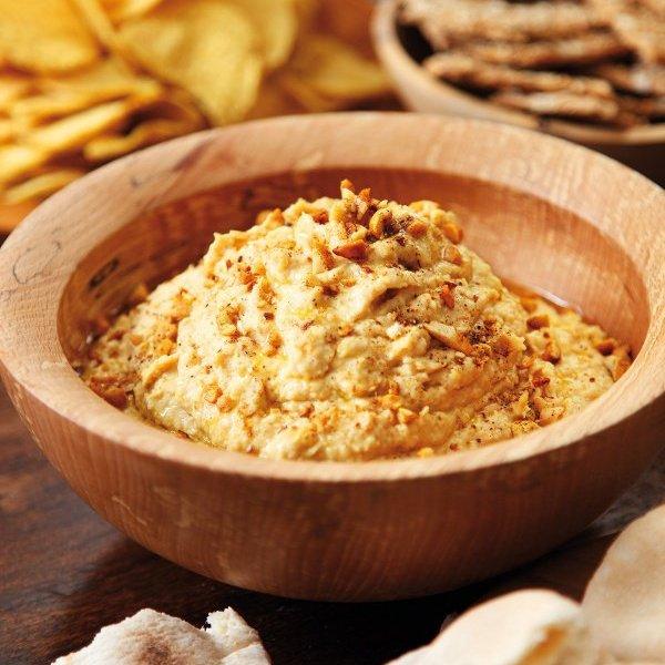 Peanut Butter Hummus [vegetarian] by Nigella Lawson
