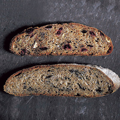Richard Bertinet's Cardamom & Prune Bread [vegan] via Waitrose