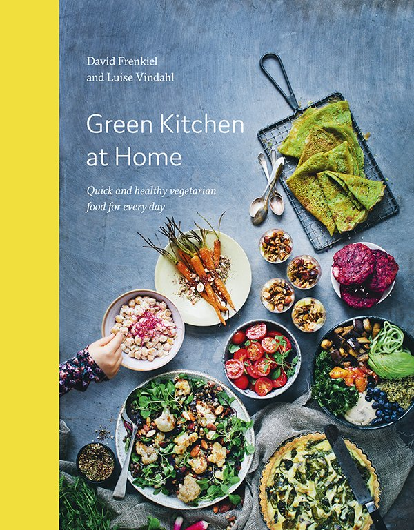 Green Kitchen at Home by David Frenkiel and Luise Vindahl