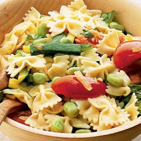 Summer Veggie Pasta [vegan] by BBC Good Food