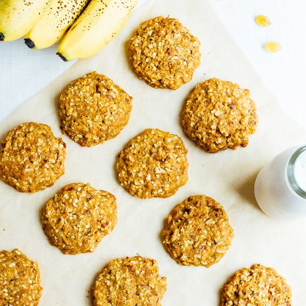 Carrot Cake Breakfast Cookies [vegan] via Eating Bird Food