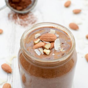 Chocolate Almond Butter with Coconut [vegan] by The Flexitarian