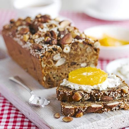 Fig, Nut & Seed Bread with Ricotta & Fruit [vegetarian] by BBC Good Food