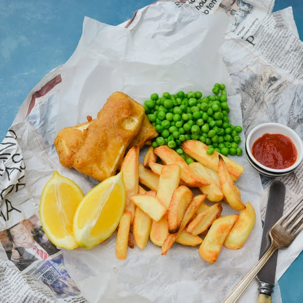 Chip Shop Battered Tofu Recipe [vegan] by Tinned Tomatoes