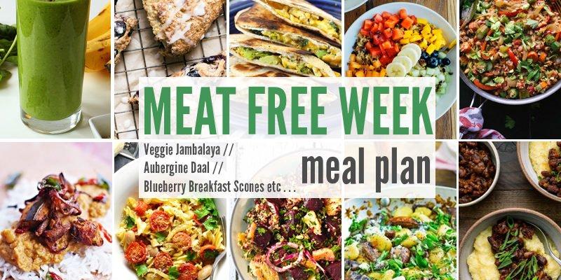 Meat Free Meal Plan: Veggie Jambalaya, Aubergine Daal + Blueberry Breakfast Scones
