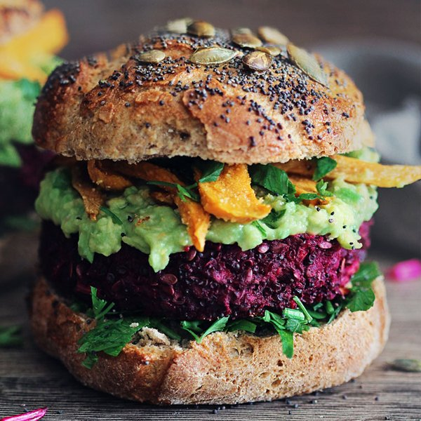 The Ultimate Veggie Burger [vegan] by The Awesome Green