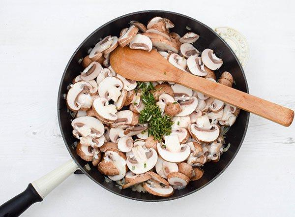 Mushroom & Potato Gratin Step 2