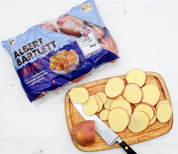 Mushroom & Potato Gratin Step 3