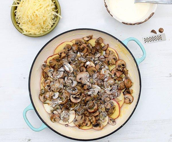 Mushroom & Potato Gratin Step 7