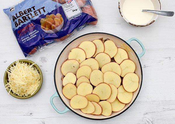 Mushroom & Potato Gratin Step 8