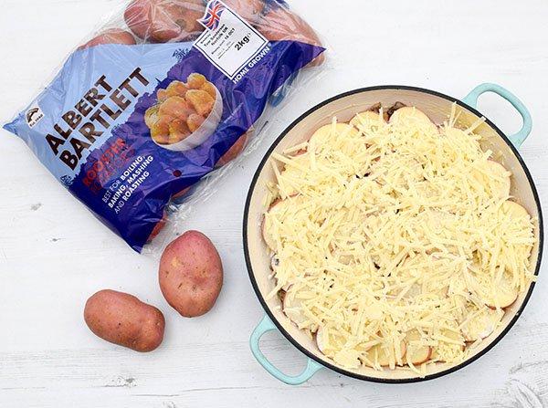 Mushroom & Potato Gratin Step 9