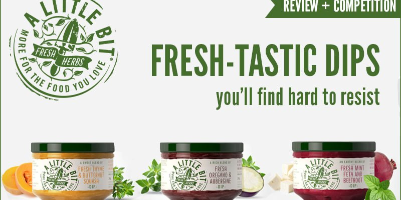 A Little Bit Fresh Herb Dips Review + Competition