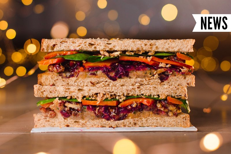Pret A Manger's First Ever Vegan Christmas Sandwich