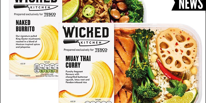 tesco launches new plant based range wicked kitchen - Wicked Kitchen