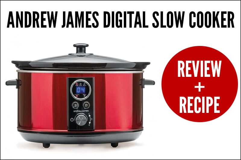Andrew James Slow Masticating Juicer Reviews : Andrew James Digital Slow Cooker Review + Recipe