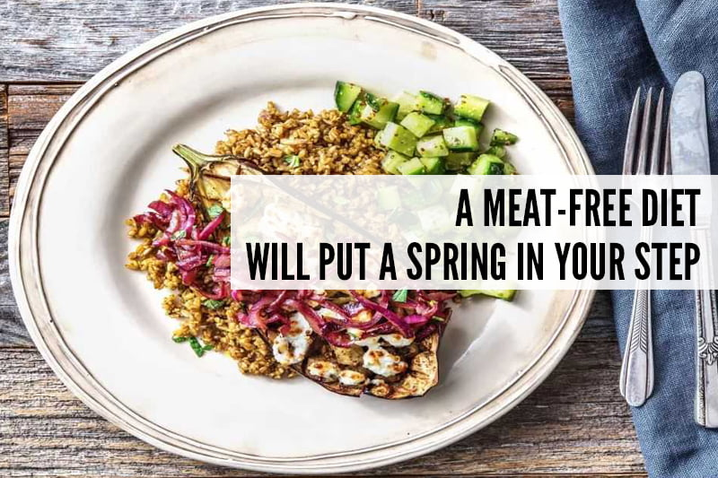 A Meat-Free Diet Will Put a Spring In Your Step