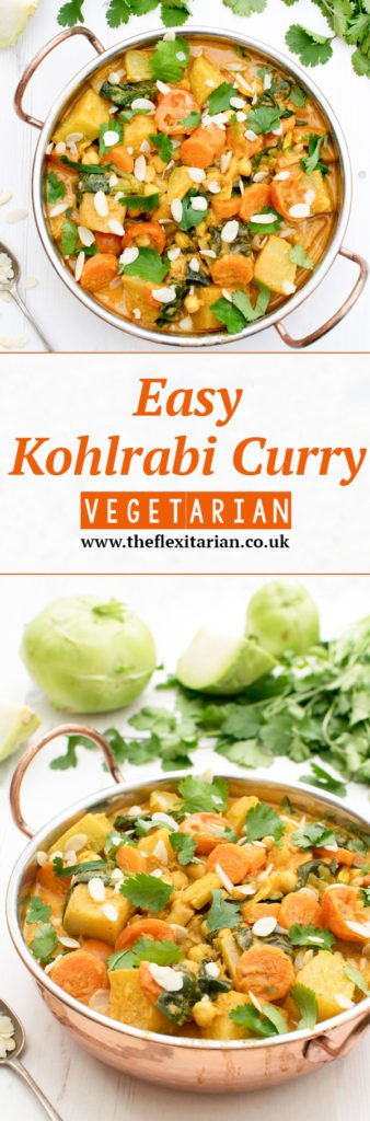 Easy Kohlrabi Curry [vegetarian] by The Flexitarian