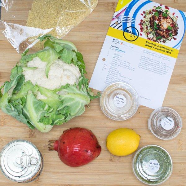Make Kit Cauliflower Ingredients