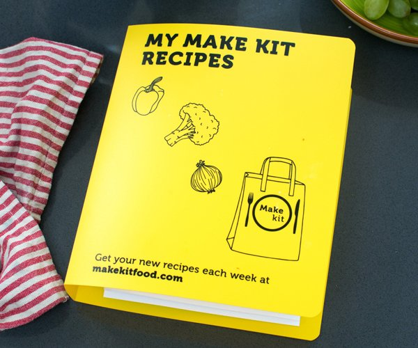Make Kit Recipe Binder