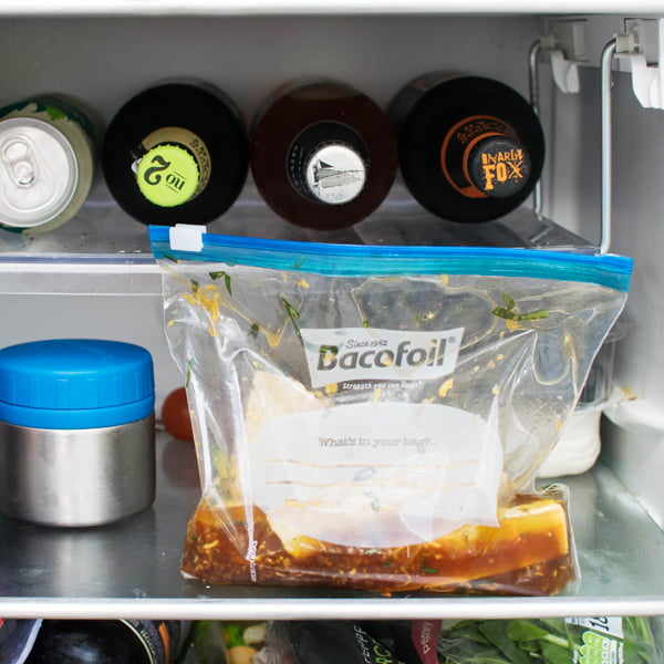Bacofoil All Purpose Zipper Bags Upright Fridge