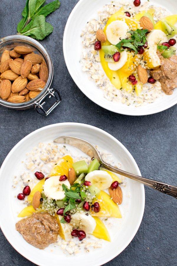 Rise & Shine Winter Porridge [vegan] by The Flexitarian
