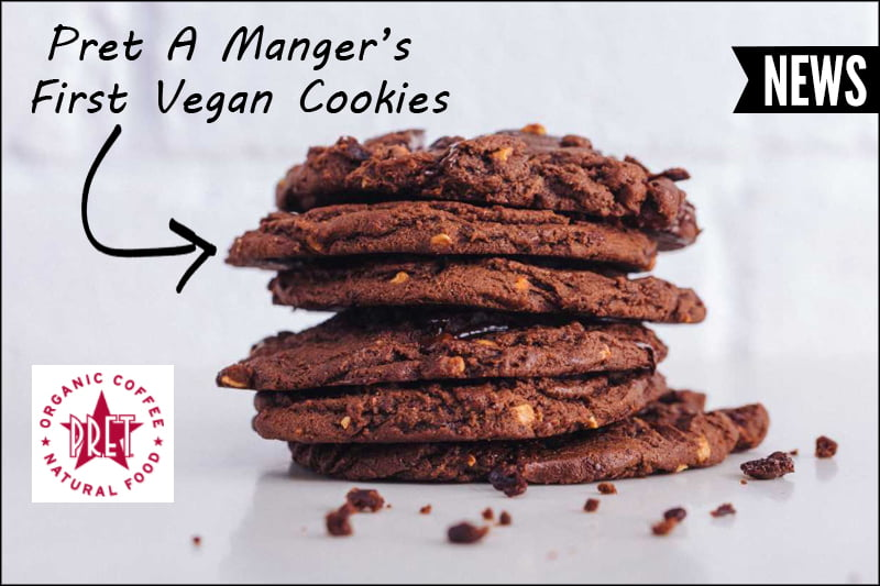 Pret A Manger vegan cookies April 2018