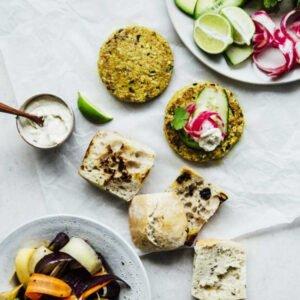 Bombay Burger from Veggie Burger Atelier [vegan]